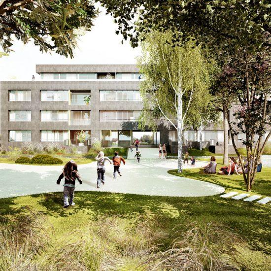 Les Jardins d'Ehden appartements à Nyon